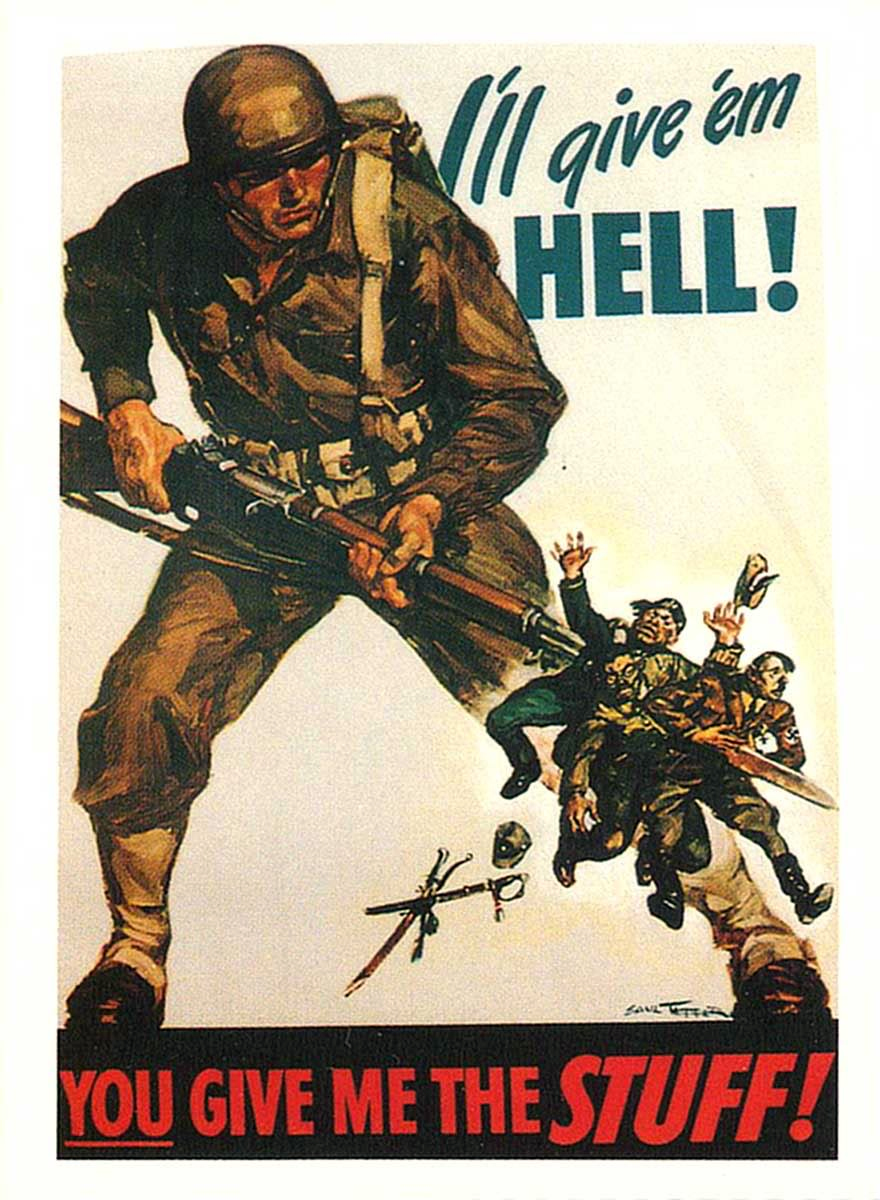 War Poster | Bill Wolfe | 11 Days of Remembrance