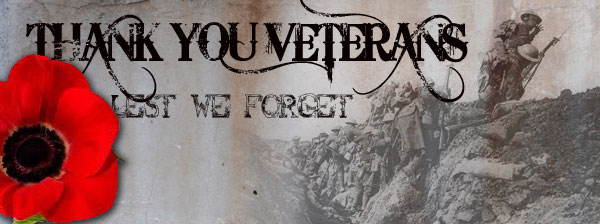 Thank You Veterans | Bill Wolfe | Remembrance Day