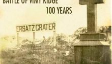 memorial on the Ersatz Crater